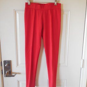 Connection 18 Leggings Red ~ Size M